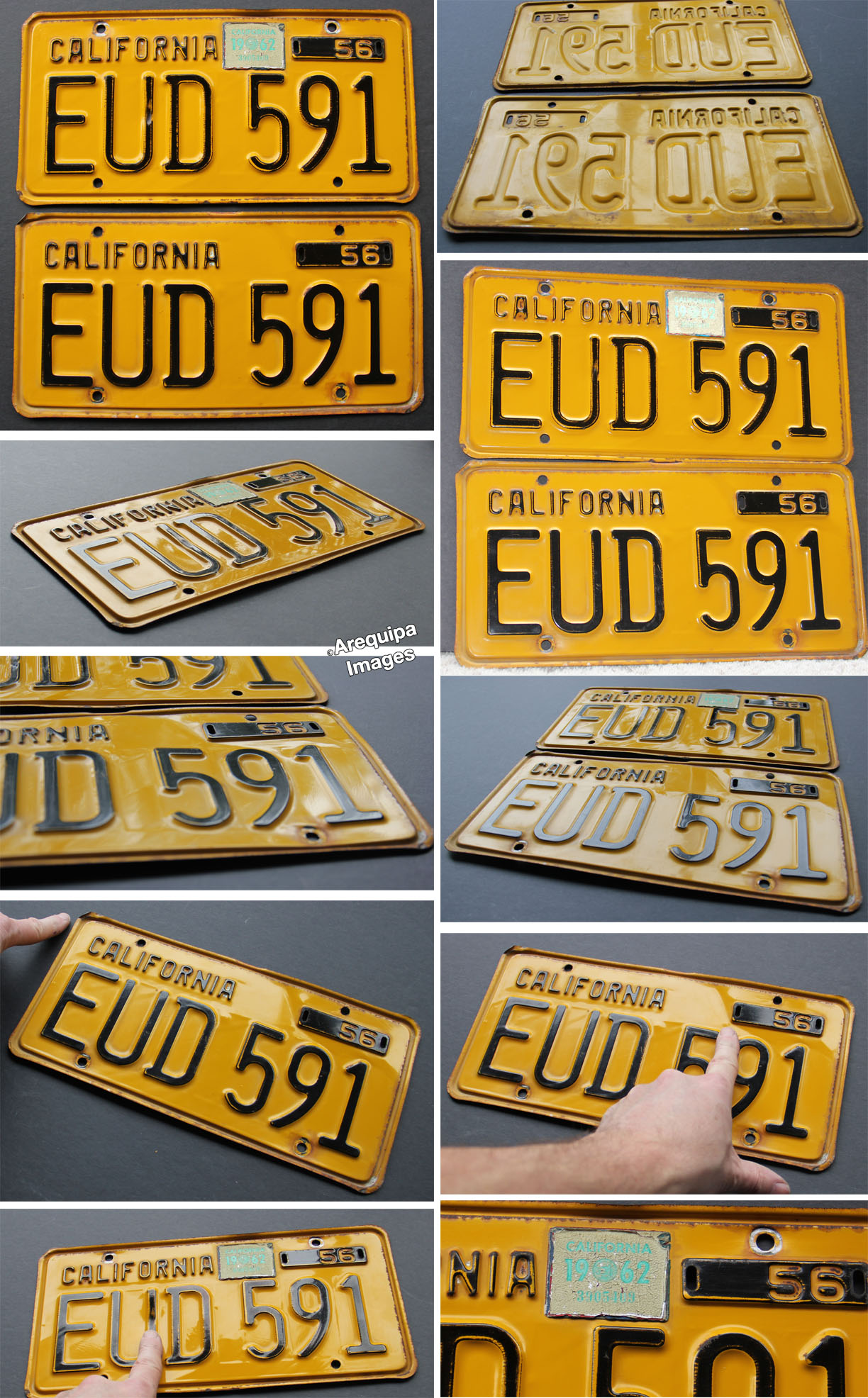 License Plates - California